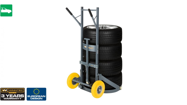 WINNTEC Smart Tyre and Wheel Cart 3