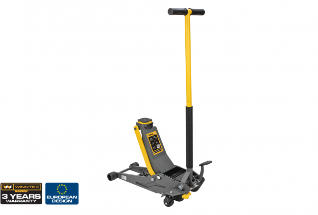 WINNTEC 3 Ton Low-Profile Trolley Jack